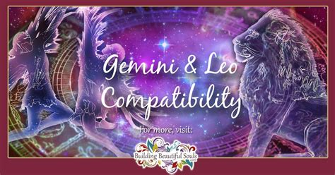 gemini  leo compatibility friendship love sex