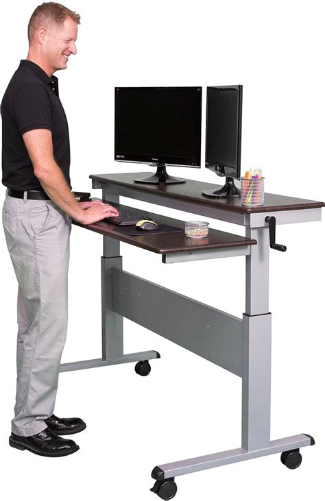 stand up desk price 8 best adjustable standing desks in 2018 reviews and