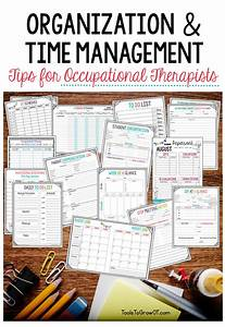 Organization Time Management Tips For Occupational