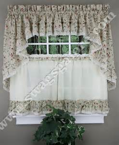cherries curtains tiers swags valance ellis