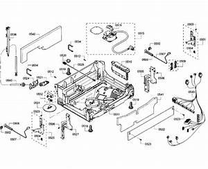 Bosch Model She68t56uc  07 Dishwasher Genuine Parts