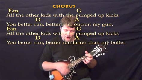 Pumped Up Kicks (foster The People) Mandolin Cover Lesson