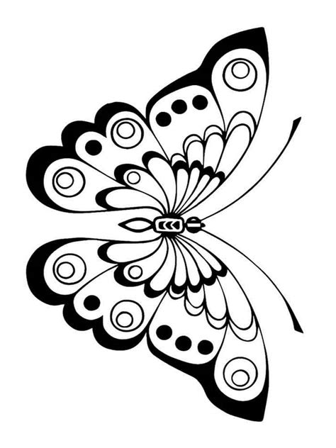 Free printable butterfly coloring pages for kids and adults (below). Butterfly coloring pages. Download and print butterfly ...