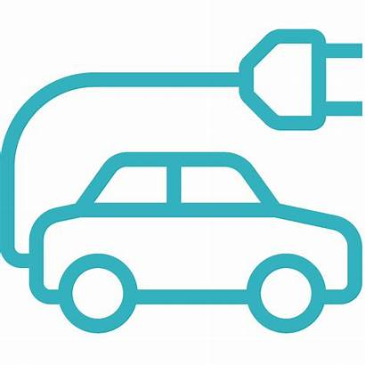 Recharge Mobil Icon Electric Points Concorde Icons