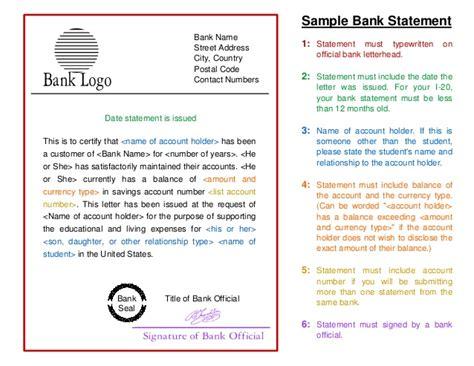sample bank statement template  study  usa