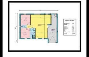 Superficie Minimum Chambre Maison by Plan De Maison 2 Chambres Avec Garage