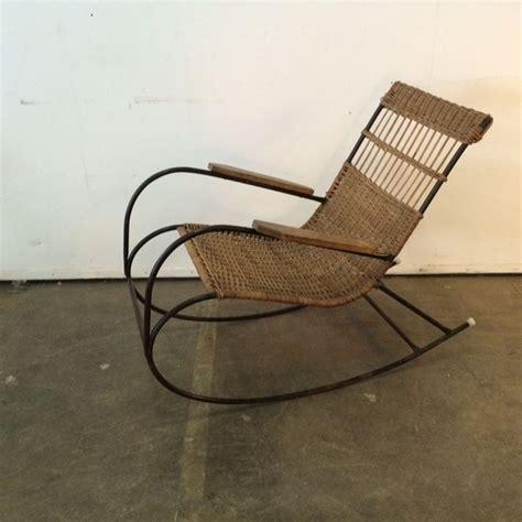 schommelstoel tuin rotan schommelstoel rotan