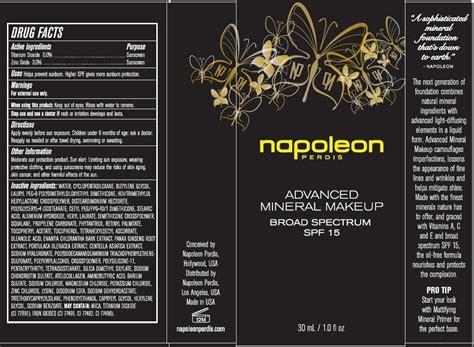 napoleon perdis advanced mineral makeup broad spectrum spf    details