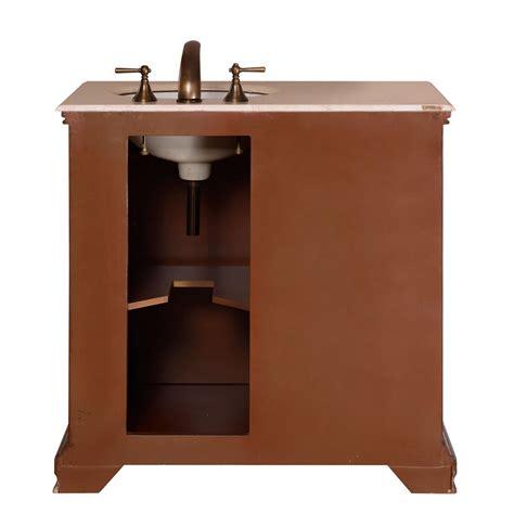 silkroad exclusive  single sink cabinet bathroom