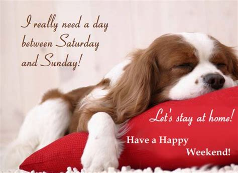 lets stay  home  enjoy  weekend ecards