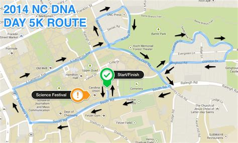 Directions To Cobb Parking Deck Unc by Nc Dna Day 187 5k Run