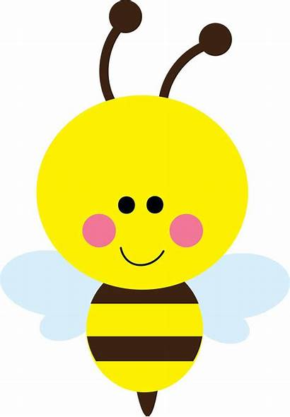 Bee Bumble Clip Cliparts Cartoon Silhouette Flying