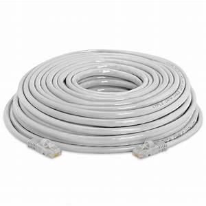 Gray Cat 5e Rj45 Cca Ethernet Lan Network Cable Cord