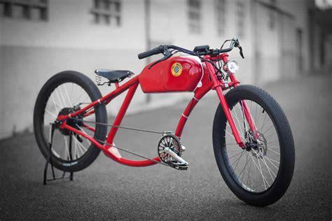 oto cycles  vintage electric bikes design father
