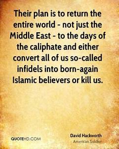 Born-Again Quot... Islamic Caliphate Quotes