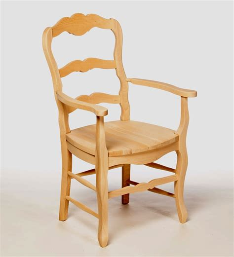beech wood country arm chair kitchen furniture