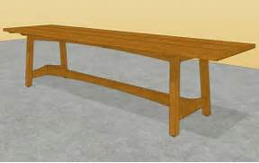 Make Outdoor Wood Table by Geh Access Wooden Table Base Plans