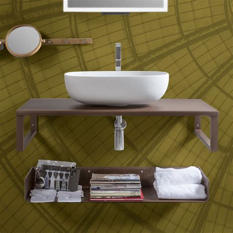 mensole in vetro ikea lavabo bagno vetro free mobile arredo bagno completo