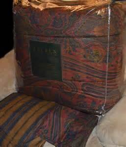ralph lauren remington vintage red queen or king comforter set new 1st qualit ebay