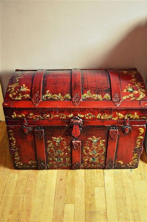 steamer chest plans  woodworking projects plans