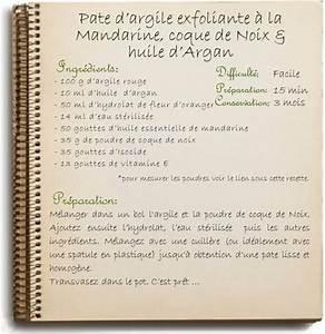 Recette Gommage Corps : recette de gommage pour le corps maison argile et coque ~ Farleysfitness.com Idées de Décoration