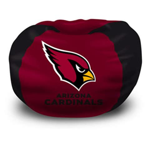 arizona cardinals bean bag chair by northwest