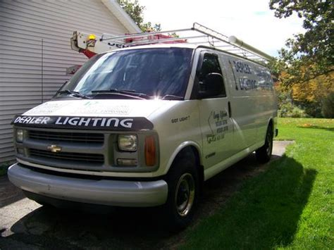 manual cars for sale 1999 chevrolet express 3500 regenerative braking buy used 1999 chevy express 3500 cargo van in waterford michigan united states for us 6 500 00
