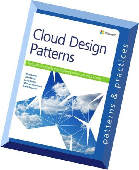 cloud design patterns cloud design patterns prescriptive architecture