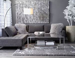Grey living room walls chocolate brown couch with gray for Curtains for living room with grey furniture