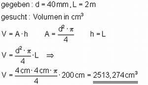 Zylinder Volumen Berechnen : aufgaben volumenberechnung mathe brinkmann ~ Themetempest.com Abrechnung