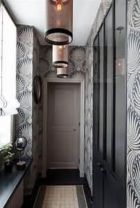 peindre son couloir conseils pour dcorer son couloir With couleur de peinture pour une entree 3 peindre son couloir en couleur lastuce deco parfaite
