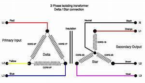 3 Phase Delta Transformer Wiring Diagram