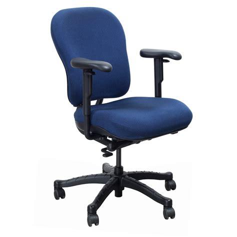 knoll rpm used ergonomic high back task chair blue