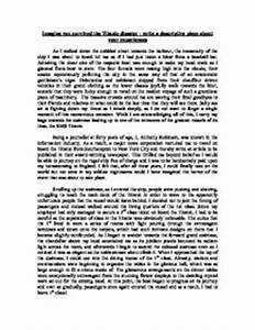 Paper Vs Essay Essays On The Titanic Buy Essays Papers also Student Life Essay In English Essay On The Titanic Describe A Person Essay Quotes On The Titanic  My First Day Of High School Essay