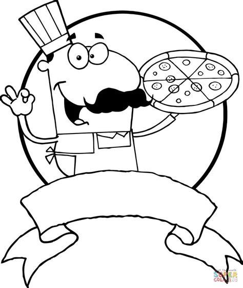 Kleurplaat Kom Soep by Ausmalbild Italienischer Pizza B 228 Cker Ausmalbilder