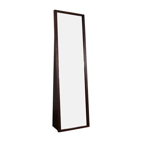 floor mirror crate and barrel 72 off crate and barrel crate barrel loop floor mirror decor