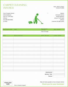 download cleaning invoice templates for free formtemplate With carpet cleaning invoice