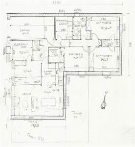 Maison 120m2 Plain Pied : 120m2 plain pied en l bbc parasismique 4 ch cuisine ouverte 134 messages ~ Melissatoandfro.com Idées de Décoration