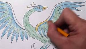 How To Draw a Phoenix - Quick Sketch - YouTube