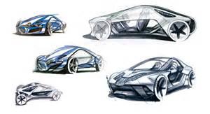 design automobile renault fly concept design sketches car design