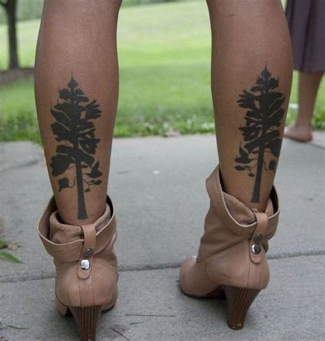 idees tatouage mollet  modeles qui ne courent