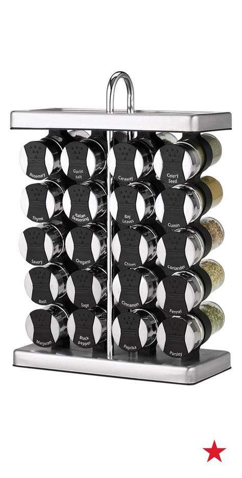 Designer Spice Racks by Martha Stewart Collection 21 Space Saver Spice Rack