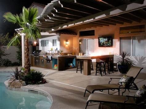 patio kitchen design cheap outdoor kitchen ideas hgtv 1424
