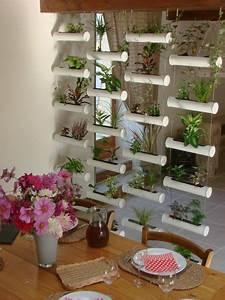 les 25 meilleures idees de la categorie mur vegetal With idee de deco jardin exterieur 0 un jardin vertical en palettes joli place