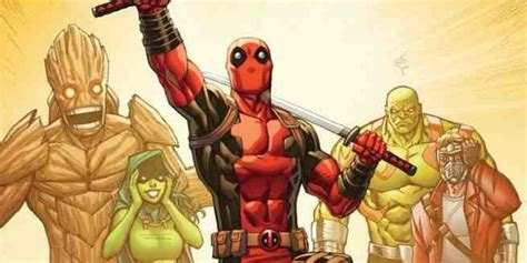 Exclusive Deadpool Vs Thanos #4 Variant By Ron Lim