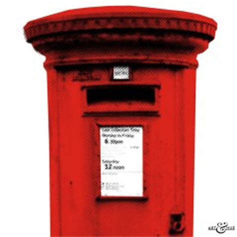 Post Box Post Box Pop Art Print