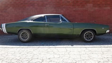 Dodge Charger Coupe 1968 Green For Sale. XS29L8B403693