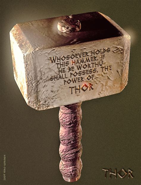 norse mythology thor hammer of the gods society and