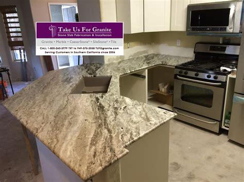 brown granite kitchen countertops for a camarillo