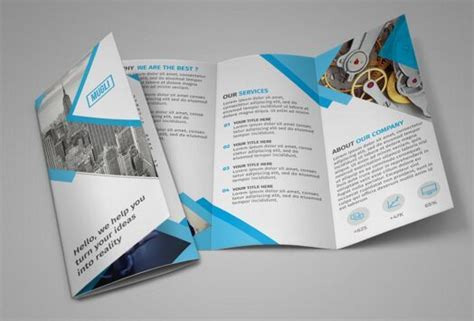 Free Tri Fold Brochure Template Downloads 2 by 100 High Quality Free Flyer And Brochure Mock Ups
